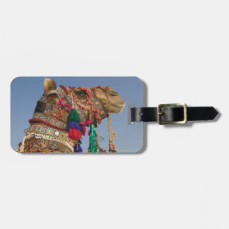 INDIA, Rajasthan, Pushkar: PUSHKAR CAMEL FAIR, Luggage Tag