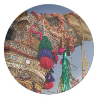 INDIA, Rajasthan, Pushkar: PUSHKAR CAMEL FAIR, Plate