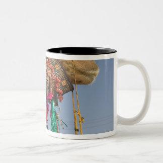 INDIA, Rajasthan, Pushkar: PUSHKAR CAMEL FAIR, Two-Tone Coffee Mug