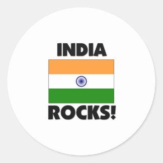India Rocks Stickers