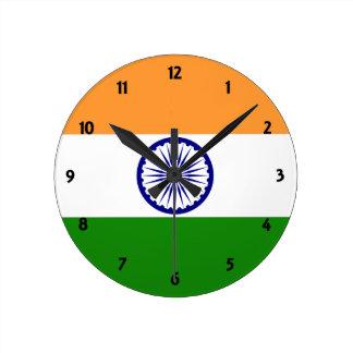 india round clock