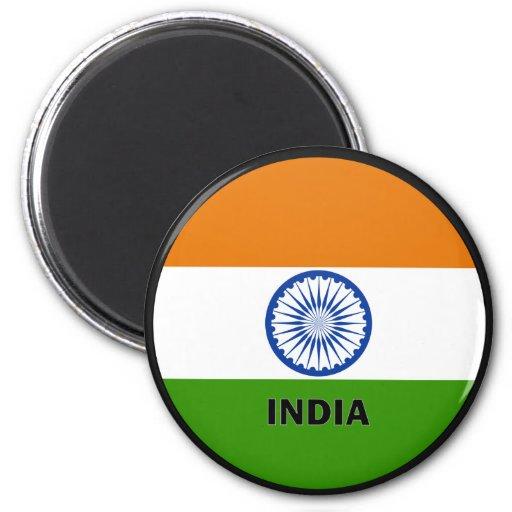 India Roundel quality Flag Magnets