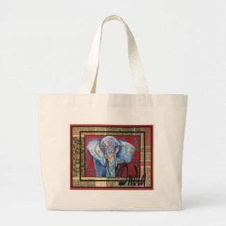 India  series #2 large tote bag