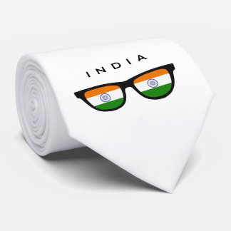 India Shades custom text & color tie