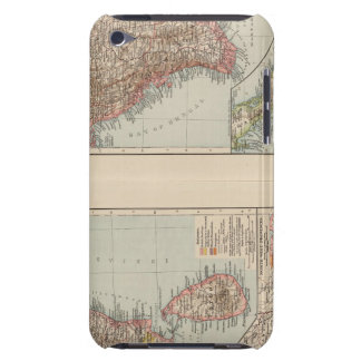 India South, Burma, Malay Peninsula iPod Case-Mate Case