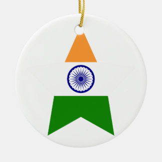 India Star Christmas Ornament