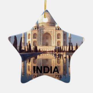 India Taj-mahal angie Ceramic Star Decoration