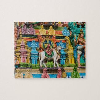 INDIA, Tamil Nadu, Chennai: Kapaleeshwarar Jigsaw Puzzle