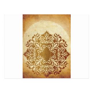 India Tea & Leaf Postcard