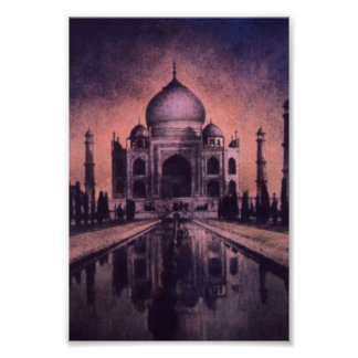 India Temple Print