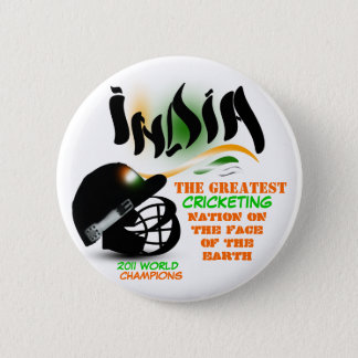 India The Greatest Cricket Nation on Earth Button