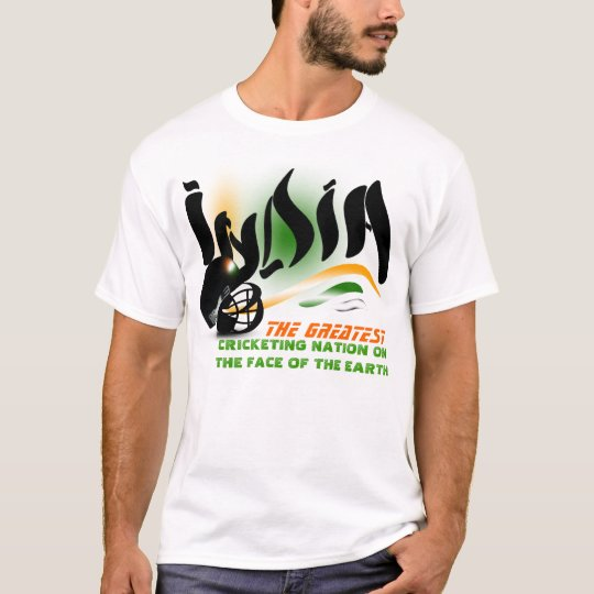 India The Greatest Cricket Nation on Earth Shirt
