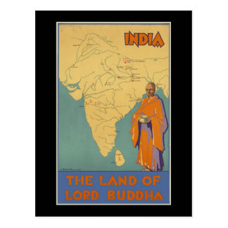 India The land of Lord Buddha Postcard