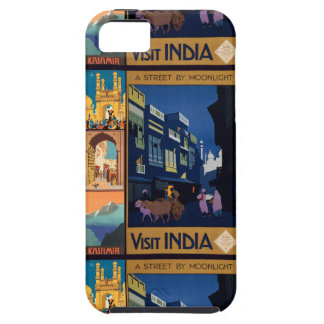 India Travel Poster collage iPhone cases