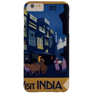 India Travel Poster custom monogram cases