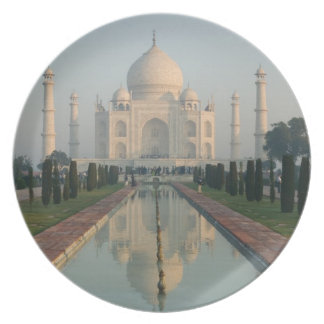 INDIA, Uttar Pradesh, Agra: Taj Mahal, Morning Plate