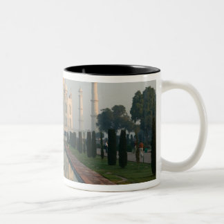 INDIA, Uttar Pradesh, Agra: Taj Mahal, Morning Two-Tone Coffee Mug