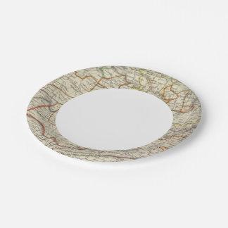 India VI Paper Plate
