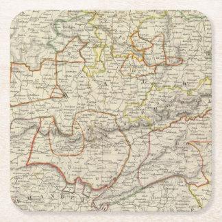 India VI Square Paper Coaster