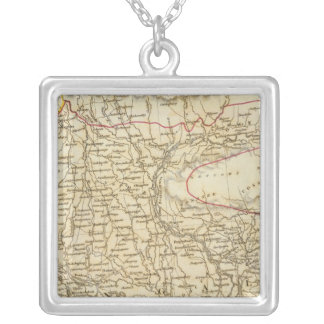 India VIII Bangladesh Presidency Silver Plated Necklace