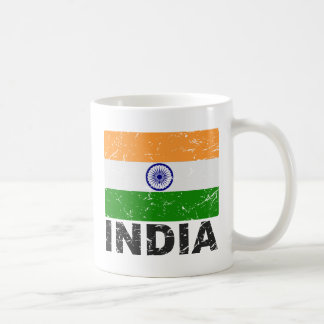 India Vintage Flag Coffee Mug