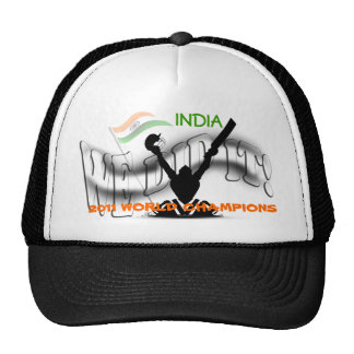 India 'We Did It' ICC Cricket World Champs Mesh Hat