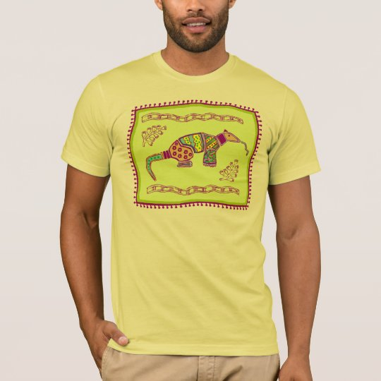 Indian Aardvark Quilt T-Shirt