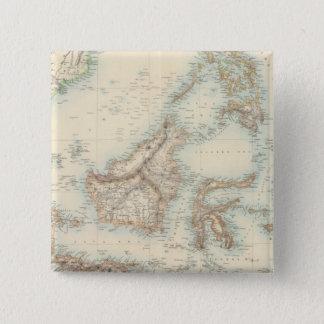 Indian Archipelago 15 Cm Square Badge