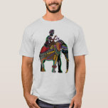 INDIAN ART ELEPHANT with RIDER T-Shirt