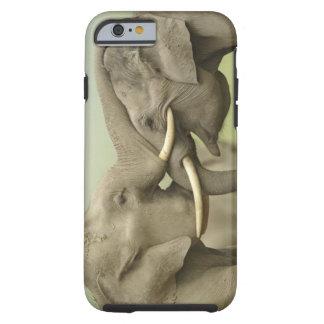 Indian / Asian Elephants play fighting,Corbett 2 Tough iPhone 6 Case