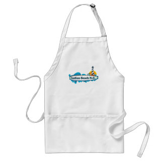 Indian Beach. Standard Apron