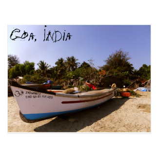 Indian beach time postcard