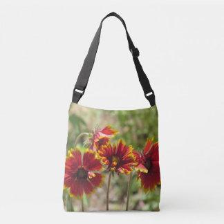 Indian Blanket Wildflowers Crossbody Bag
