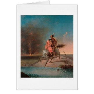 Indian Captive (0745A) Card