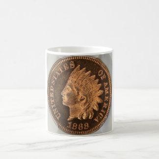 Indian Cent Mug