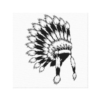 Indian Chief Canvas Print
