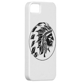 Indian Chief Head iPhone 5 Cover