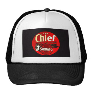 Indian Chief Railroad Sign Hat