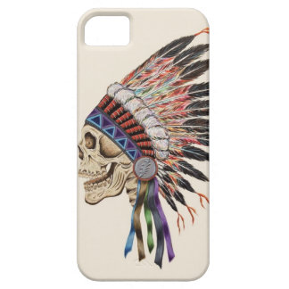 Indian Chief Skull iphone 5 case