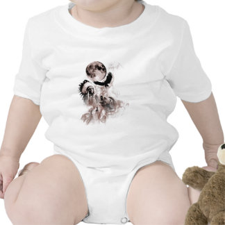 Indian Chief - Wolf - Moon - Bear - Eagle Baby Bodysuit