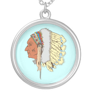 Indian chieftain native American chief Jewelry