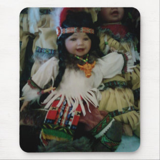 INDIAN CHILD DOLL MOUSE PAD