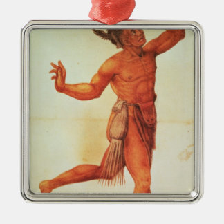 Indian Conjuror Christmas Ornament