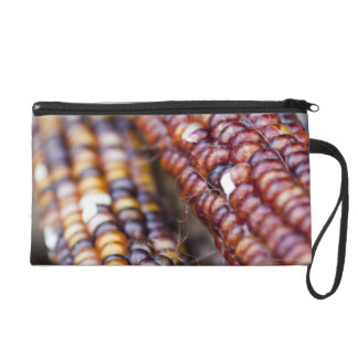 Indian Corn at the Union Square Greenmarket, New Y Wristlet