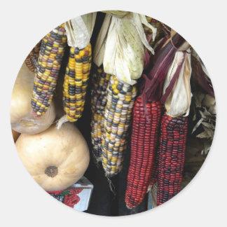 Indian Corn Autumn Harvest Sticker