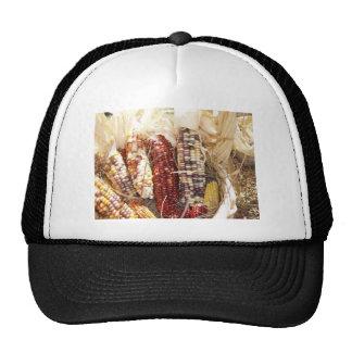 Indian Corn Mesh Hats