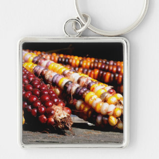 Indian Corn Keychain
