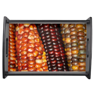 Indian Corn Serving Tray