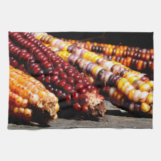 Indian Corn Tea Towel