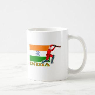 Indian Cricket Player Basic White Mug